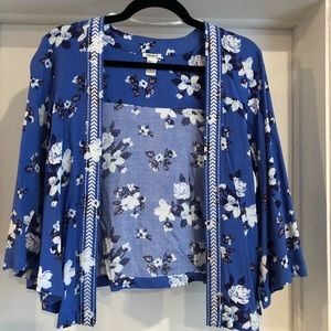 Blue/purple kimono from forever 21